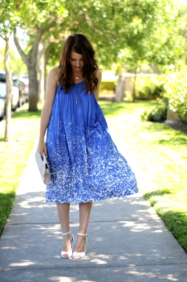 Dress HM Old Clutch Francescas Shoes Zara Necklaces Anna Bee Jewelry C O And JCrew