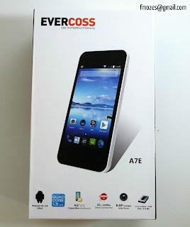 Harga dan Spesifikasinya Evercoss A7E Terbaru