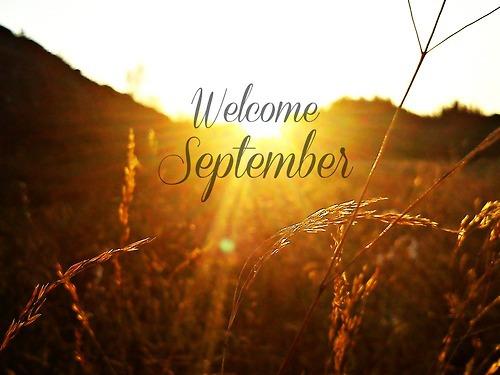 Welcome September! / Vitaj september!