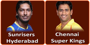 CSK Vs SRH on 25 April 2013.