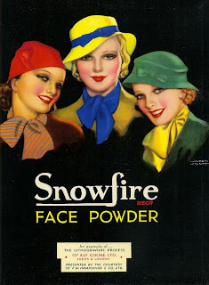 snowfire face powder