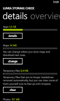 Lumia Storage Check