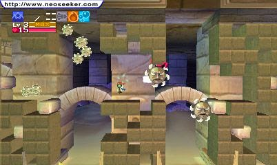 3DS Cave Story 3D Screenshot