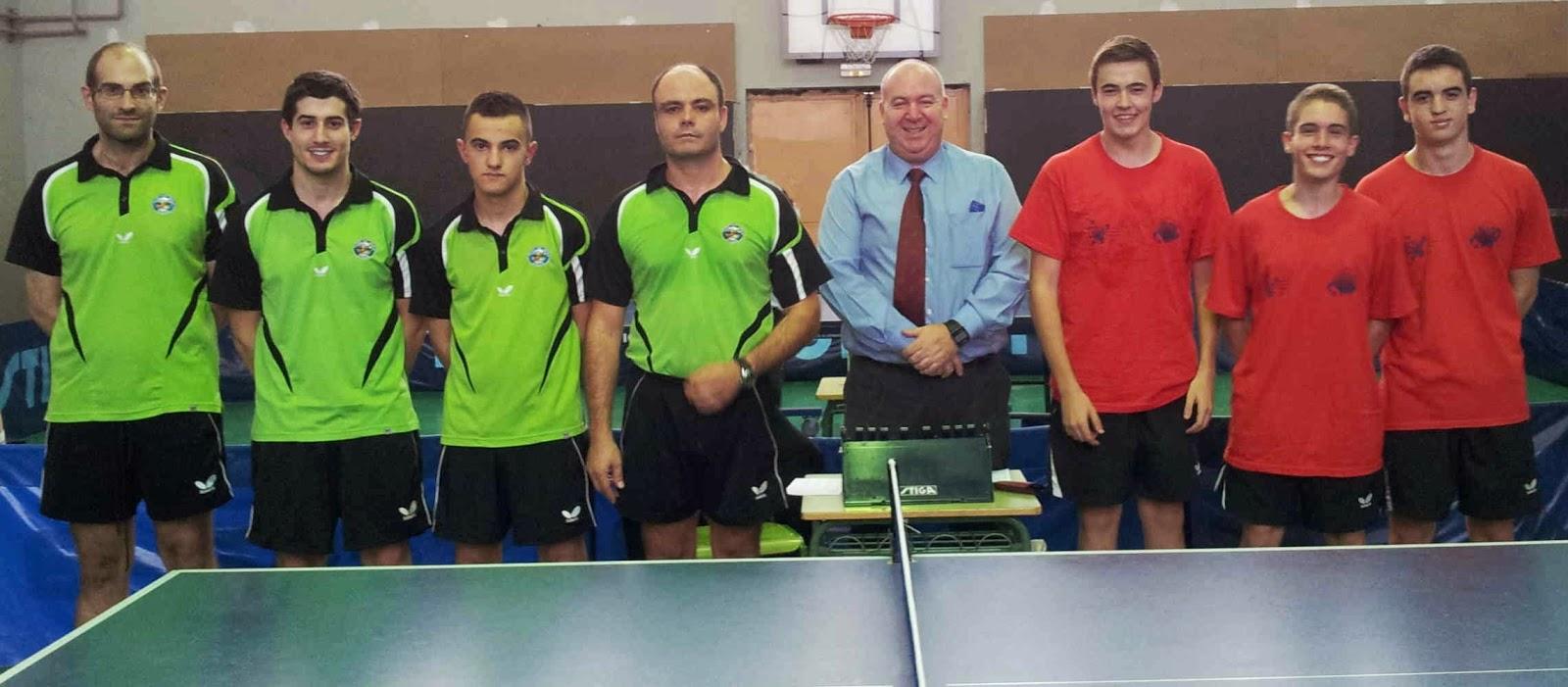 Federaci n de tenis de mesa del principado de asturias octubre 2014 - Aviles tenis de mesa ...