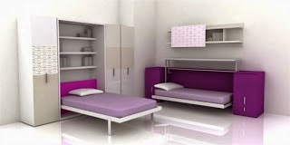Italian Furniture - Transformer For Small Teen Bedroom