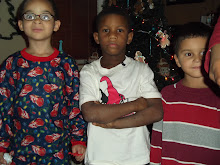shais brother Davion in middle and her boy cuz's Dallas and Brayden