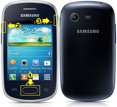 Factory Reset Samsung Galaxy Star Duos S5282