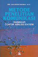 toko buku rahma: buku METODE PENELITIAN KOMUNIKASI, pengarang jalaluddin rakhmat, penerbit rosda