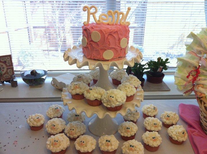 cakes by lauren sheep baby shower for little girl remington jade