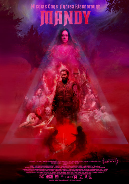Recent releases: Mandy (2018)