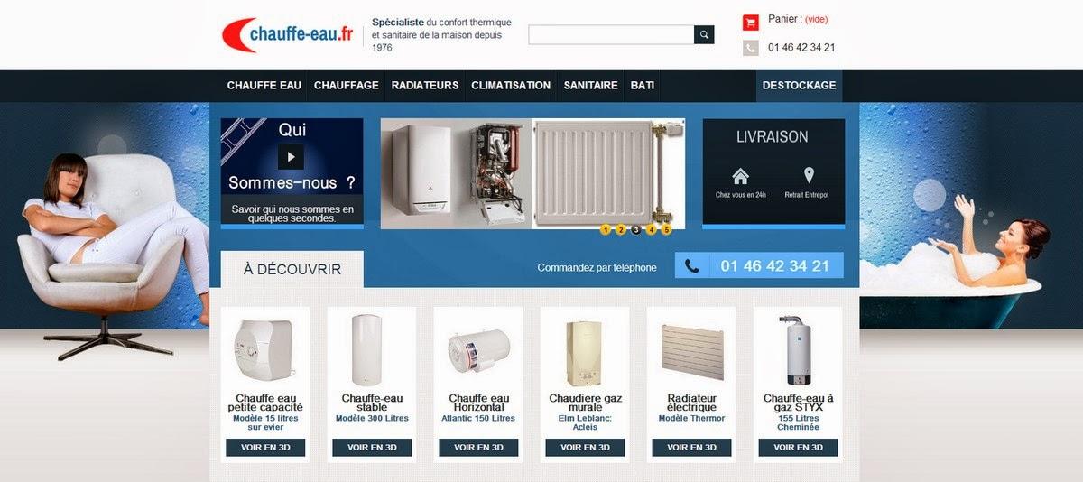 www.chauffe-eau.fr :  Le blog  des produits du confort thermique, du sanitaire et de la sécurité.