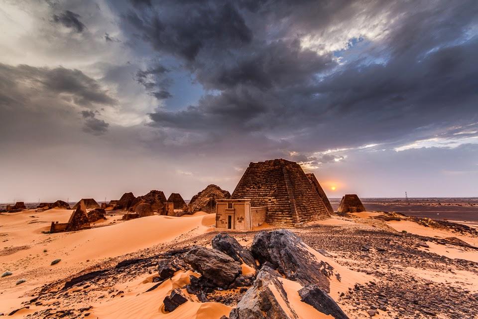 homokvihar után Meroéban