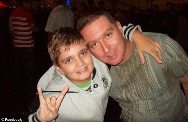 Marcelo Pesseghini dan sang ayah