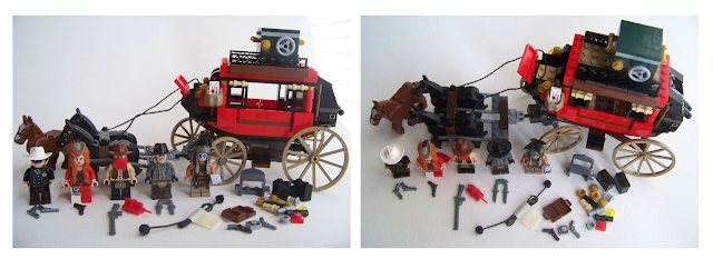 LEGO Stagecoach Escape 79108