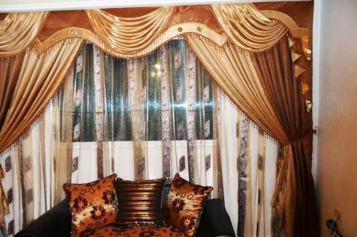 D coration de salon marocain juin 2014 - Deco rideaux salon contemporain ...