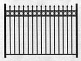 , contoh pagar rumah sederhana, contoh pagar besi rumah, gambar pagar ...