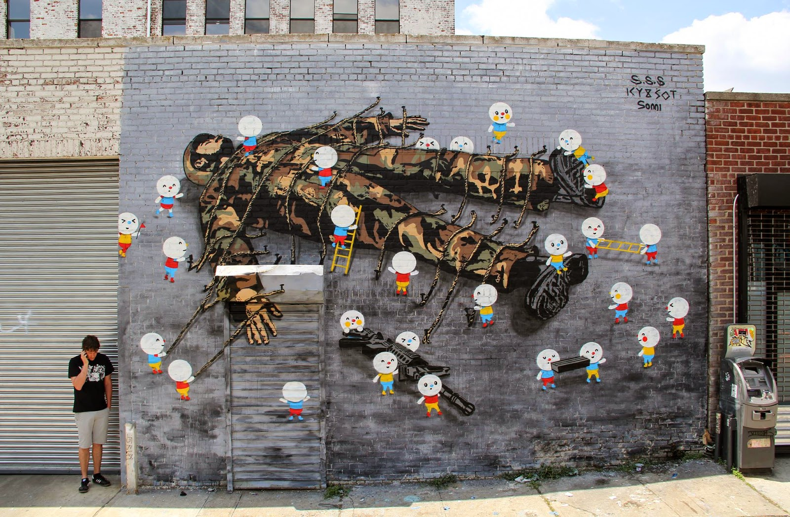 Icy and Sot recently teamed up with Sonni to work on this new collaboration on the streets of New York City.