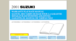 Suzuki Flat Rate