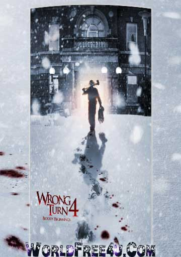 Poster Of Hollywood Film Wrong Turn 4 (2011) In 300MB Compressed Size PC Movie Free Download At worldfree4u.com