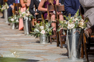 Rustic pastel Wedding Ceremony Aisle by Petal to the Metal Florist l Plumpjack Squaw Valley l Johnstone Studios l Take the Cake Event Planning