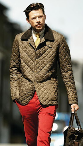 Dapperman101 The Barbour Quilted Jacket