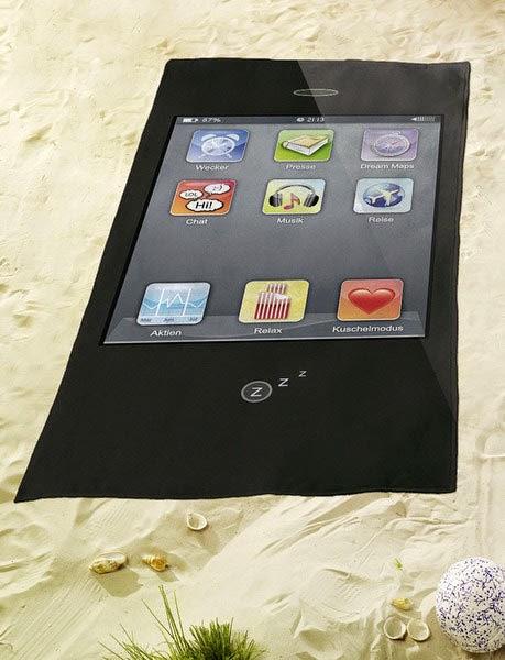 Toalla de Playa iPhone