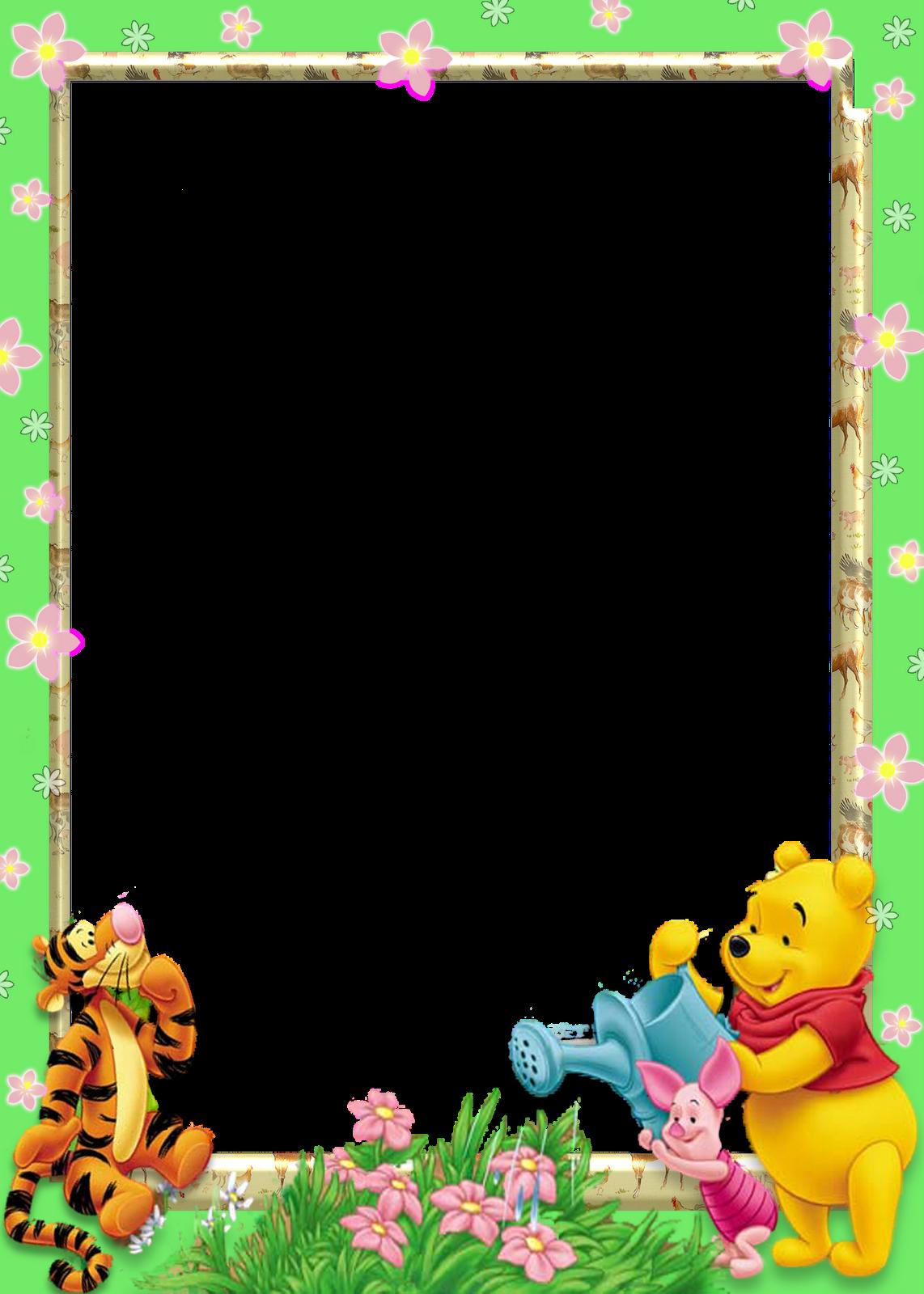 Cumpleaños Winnie Pooh en goma eva centros de mesa