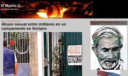 http://elmuertoquehabla.blogspot.nl/2013/11/abuso-sexual-entre-militares-en-un.html