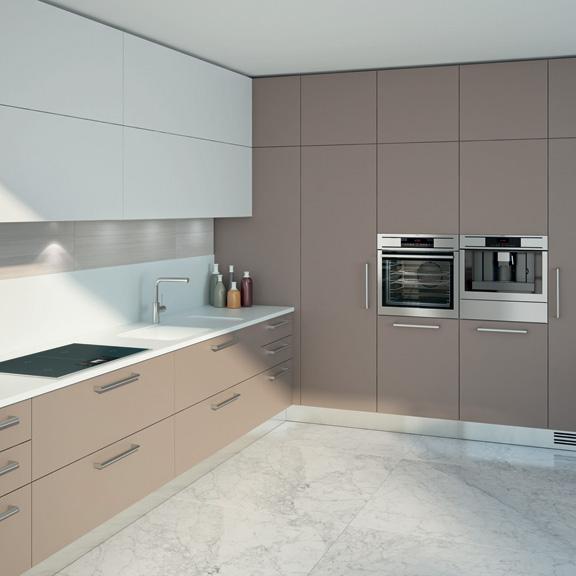 Cocinas angulares Prácticas y eficientes  Cocinas con estilo