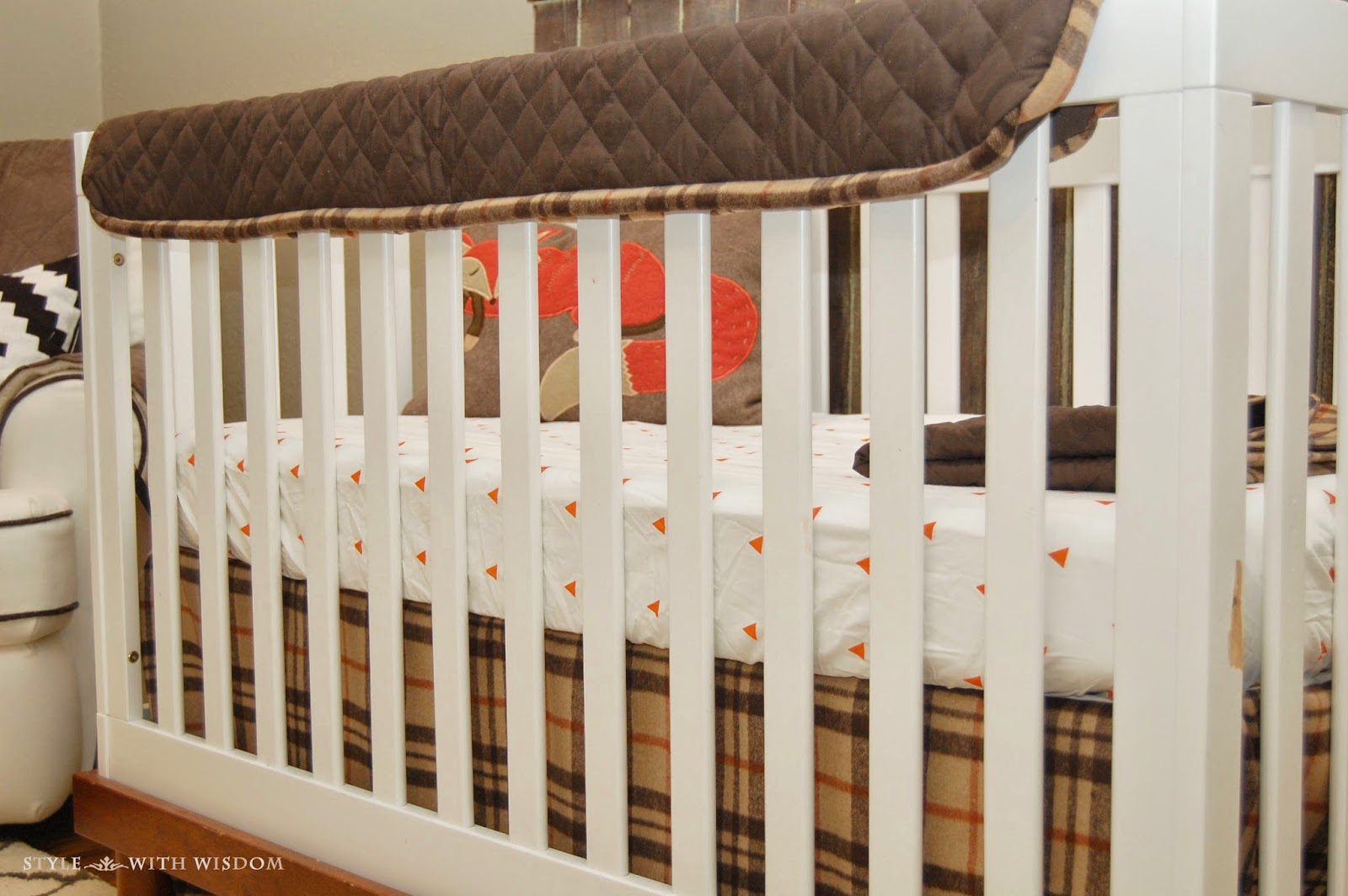 Woodland Nursery crib bedding