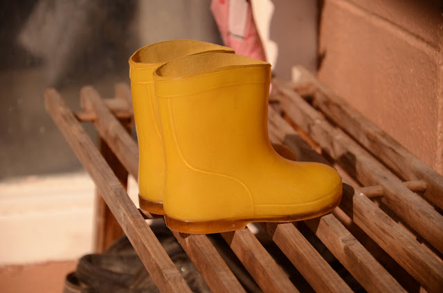 The Yellow Boots