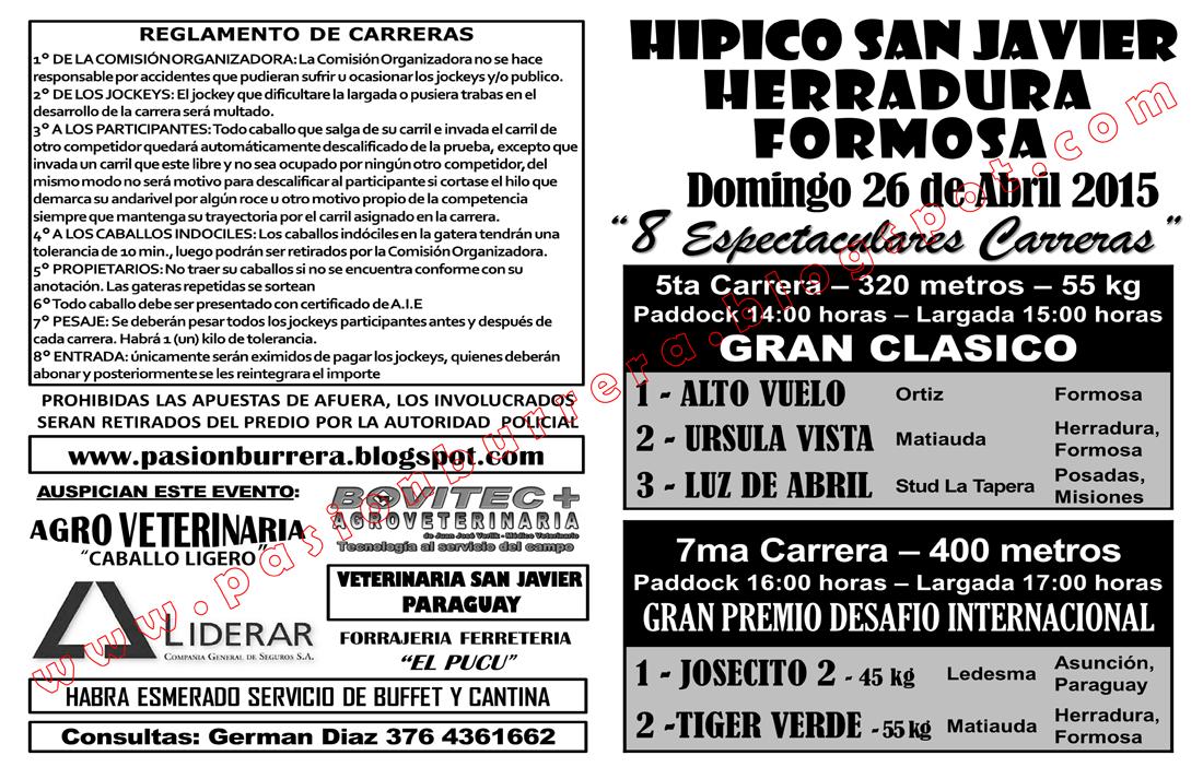 HERRADURA 26 - TAPA