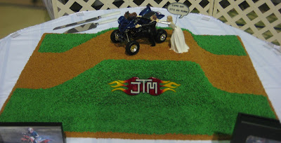 4-Wheeler Themed Groom's Cake 3