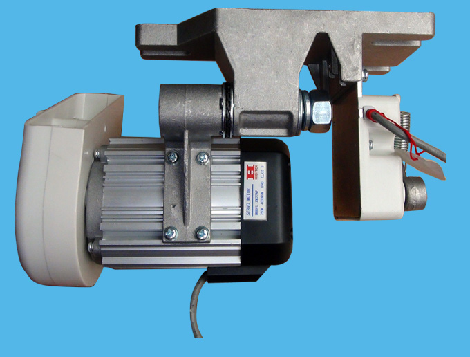 Heavy Duty Industrial Sewing Machines The Servo Motor For