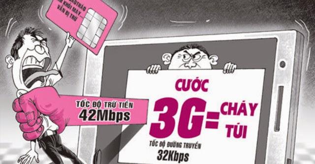Chiếc bẫy mang tên 3G