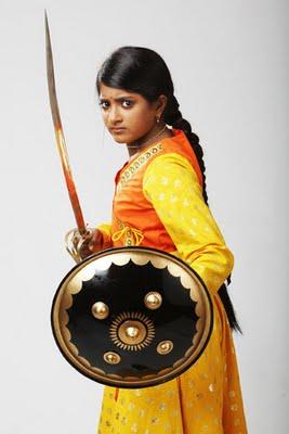 Jhansi Ki Rani Ulka Gupta as Rani Laxmibai