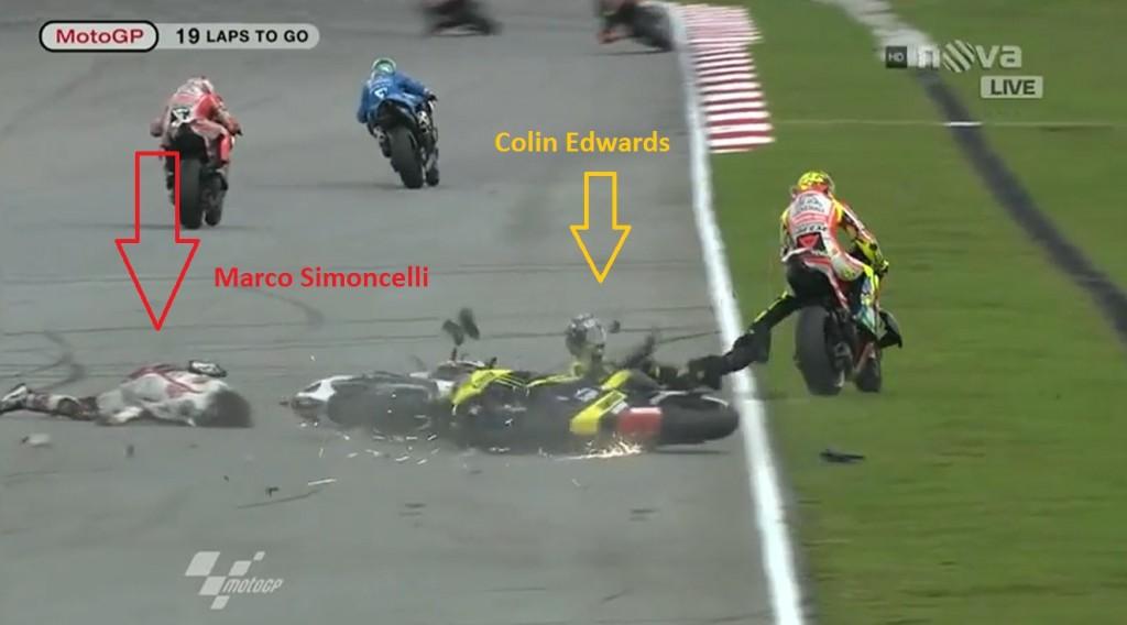 Simoncelli dead after Malaysian MotoGP crash