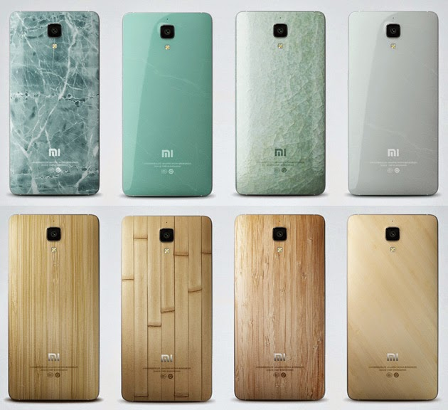 Xiaomi Mi 4 Interchangeable back covers where to buy