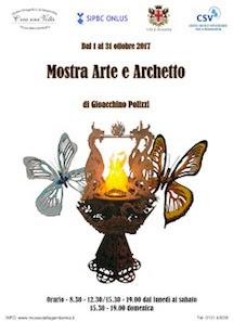 """Mostra """"Arte e archetto"""" del sig. Polizzi Gioacchino"""