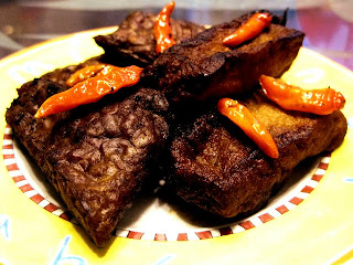 Tofu  Tempeh Bacem (Tahu Tempe Bacem)