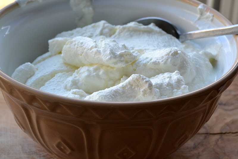 Making greek style yogurt at home