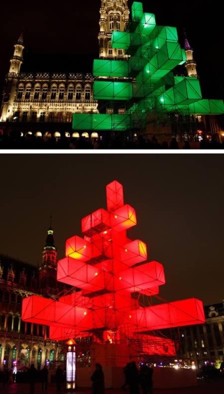 5 El arbol de navidad electronico-Belgica
