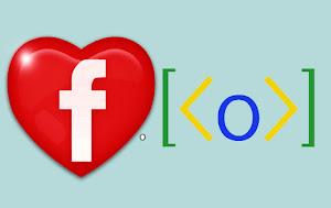 ♥ o [ < o > ] no Facebook