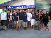 La grande famille de Blue Planet Divers