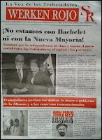 Periódico WERKEN ROJO n° 1 La Voz de los Trabajadores