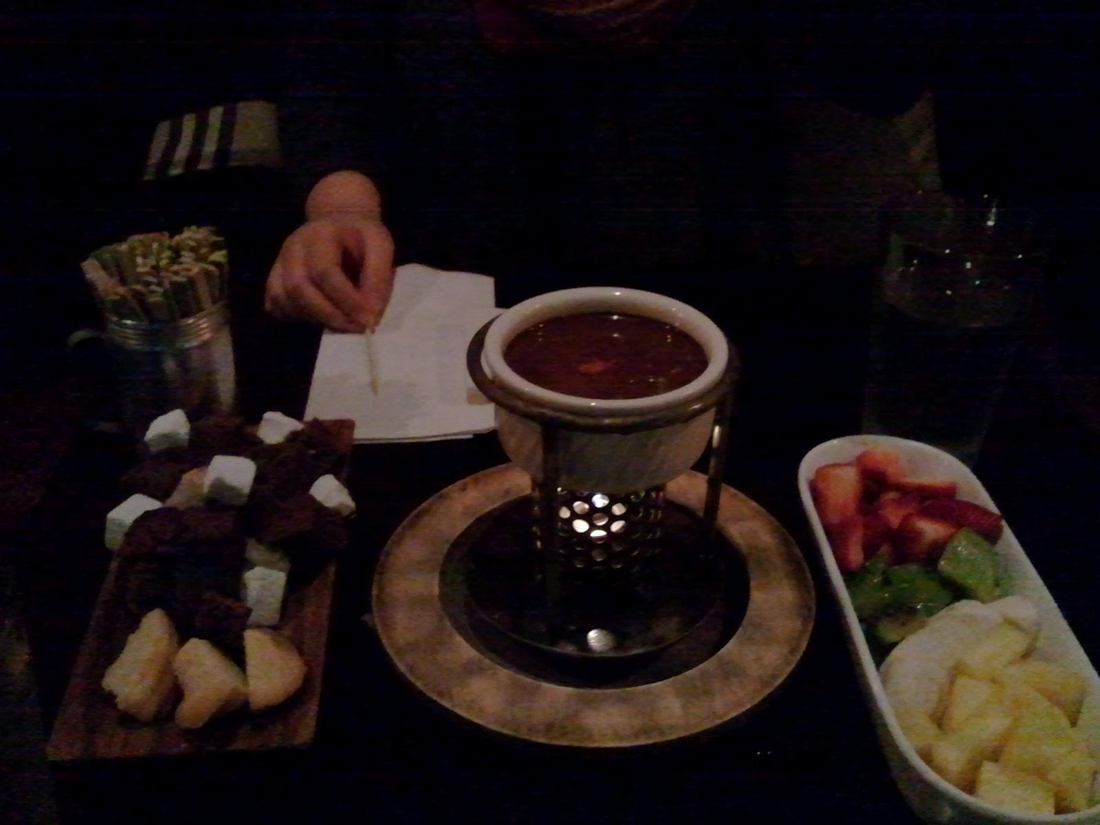 Dark Chocolate Fondue Calories