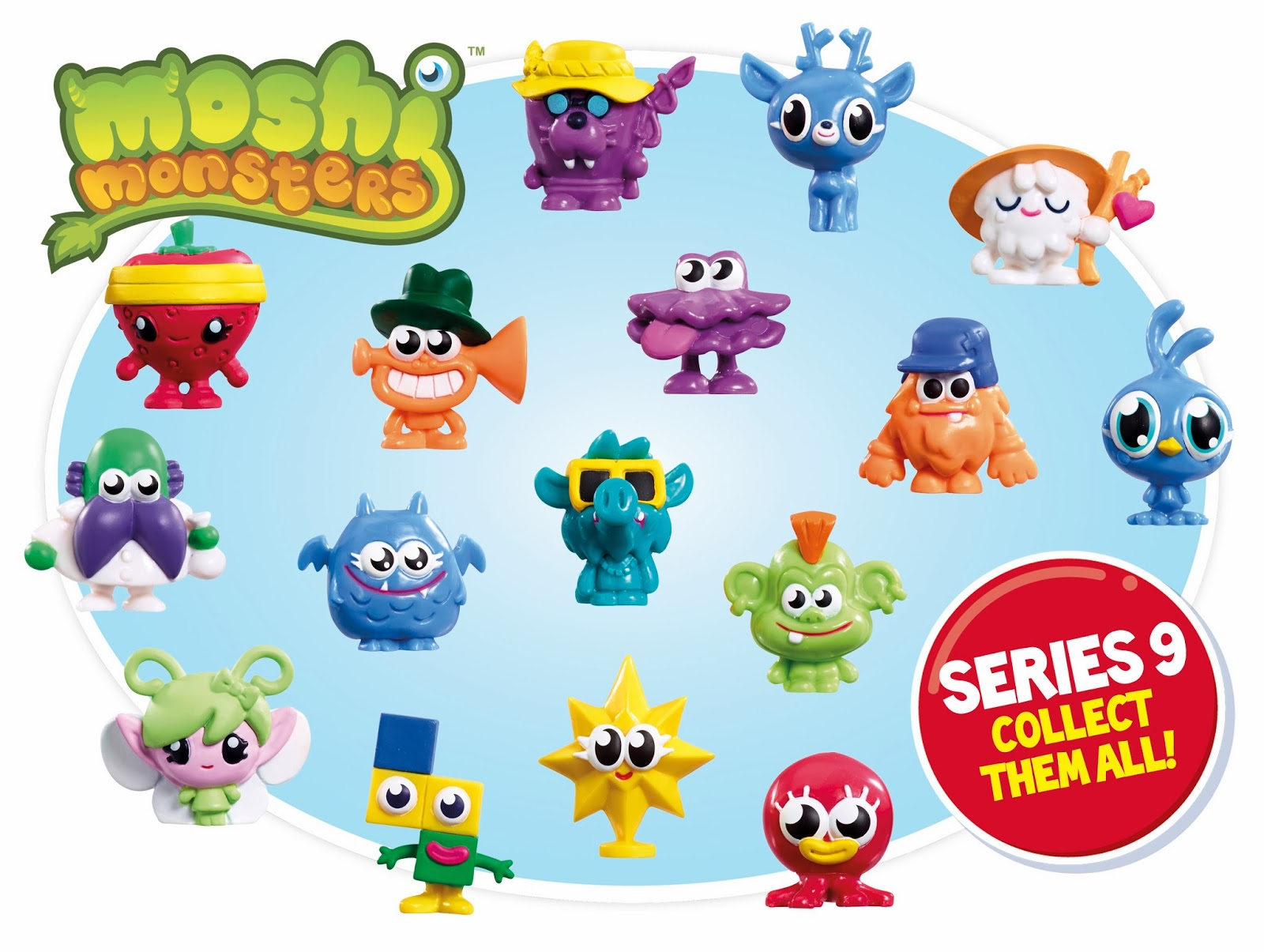 Moshi Monsters Series 9 Figures, Moshi Monsters Competition, Win a set of moshlings