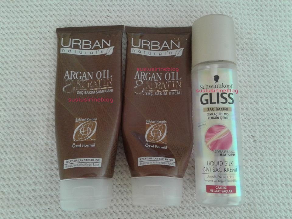 bitenler blog gliss sivi sac kremi urban care argan yagli sampuan ve sac kremi