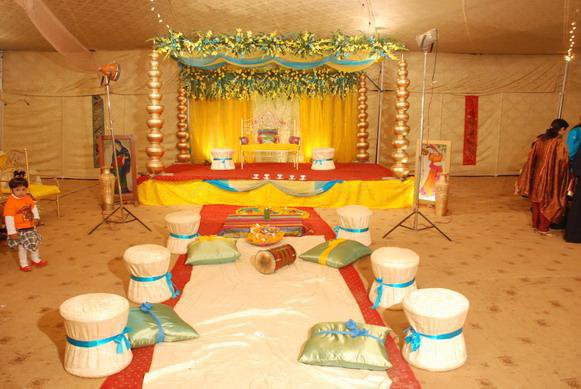 Pakistani Wedding Decor Posted by Libra at 0600