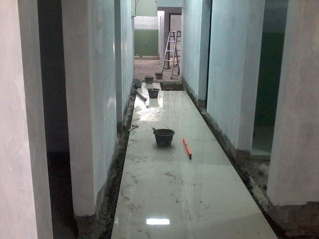 Pasang granit lantai